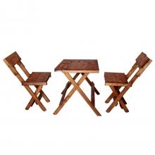 میز صندلی ناهار خوری سورمه 2 نفره مدل 002